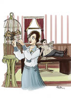 Bioshock Infinite - What if... by ryuuza-art