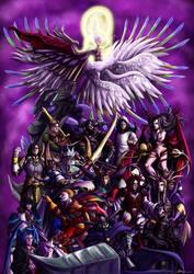 Final Fantasy: Villains by ryuuza-art