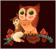 The Owl Princess by killskerry