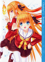 Charlotte BD Vol.2 Booklet Cover by SquallEC