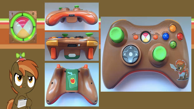 Button Mash Custom Xbox360 Controller by CARDI-ology