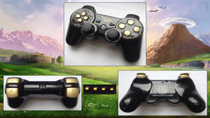 Custom Legend of Zelda PS3 Controller by CARDI-ology