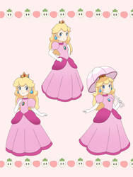 Peach, Peach, and Peach by PeachyEmily
