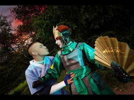 Sokka, Suki - Avatar: The Last Airbender by TophWei