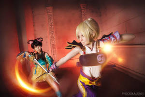 Soul Calibur V, Natsu x Leixia - Fight! by TophWei