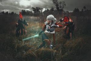 Ciri Cirilla Witcher 3 by TophWei