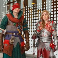 Saskia and Iorveth by TophWei