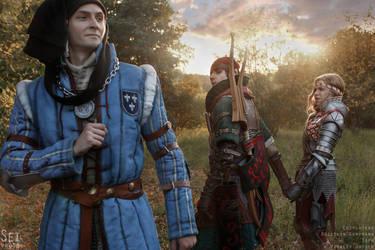Iorveth, Saskia, Roche Witcher by TophWei