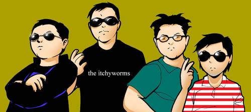 the itchyworms by melonchan