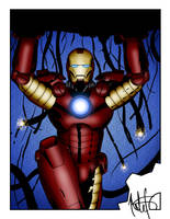 IRON MAN Colored by NathanKroll