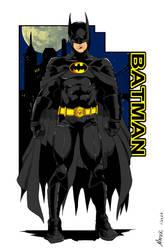 Batman 1989 by NathanKroll