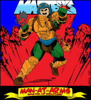 Man-At-Arms by NathanKroll