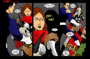 Lets Just Be Foes  issue 3 page 5 by NathanKroll