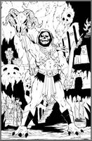 Skeletor in Castle Grayskull by NathanKroll