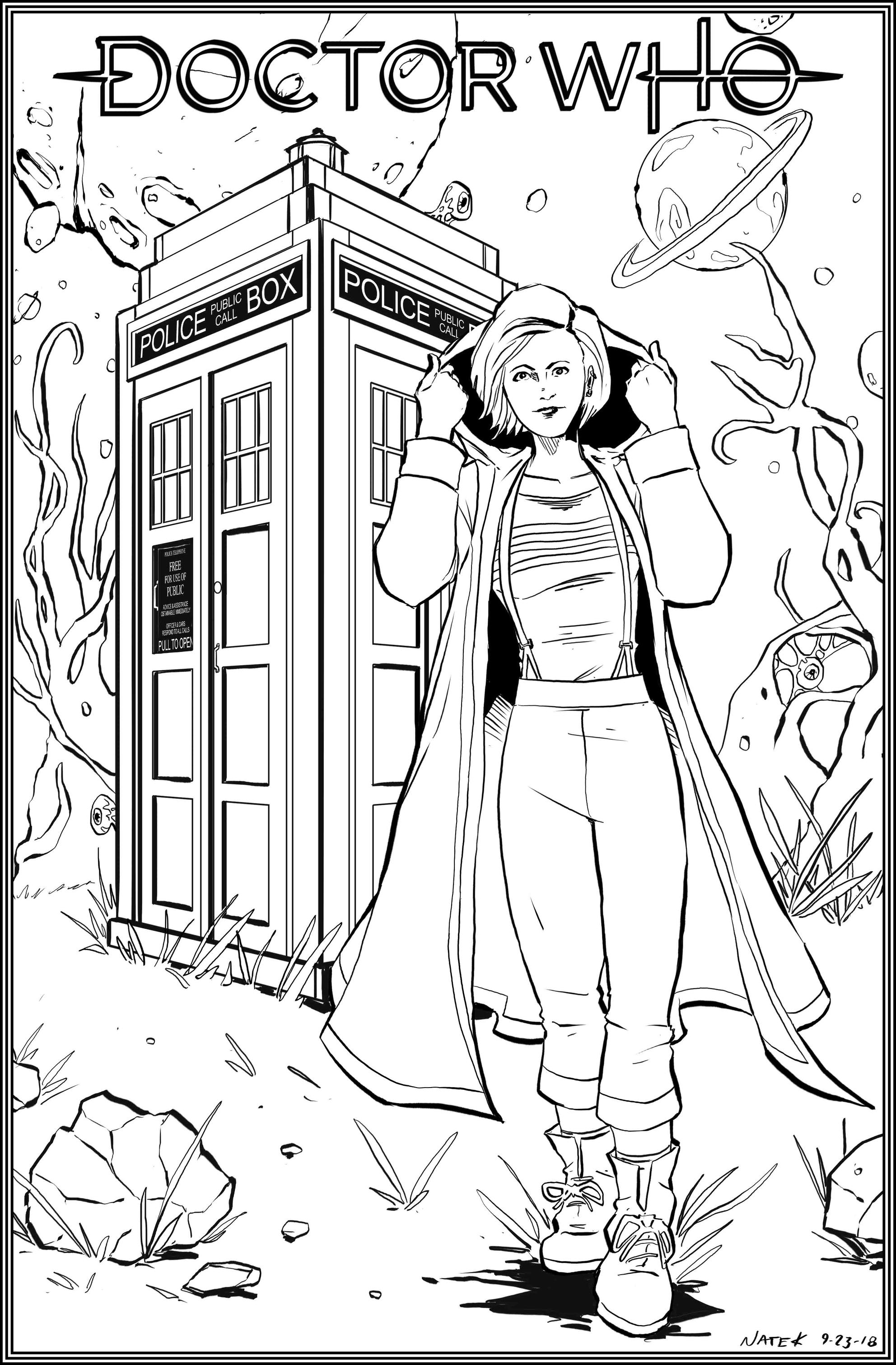 Doctor Who 13th Doctor by NathanKroll