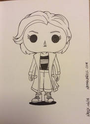 Funko Pop Doctor Who by NathanKroll