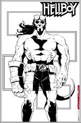 Hellboy by NathanKroll