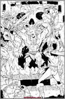 Battle Of Grayskull by NathanKroll