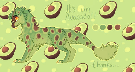 JBD ADOPT |  Its an avacado... thanks [closed] by Ovacalix