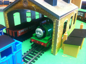 Percy The Small Green Engine by TrackmasterPrime