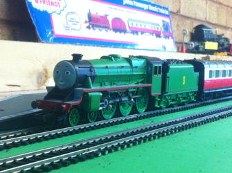 Henry the Green Engine by TrackmasterPrime