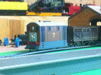 Toby The Number 7 tram engine by TrackmasterPrime