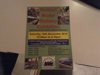 Solihull Model Railway Exhibition by TrackmasterPrime