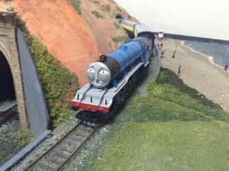 Gordon at the Solihull Model Railway Circle by TrackmasterPrime