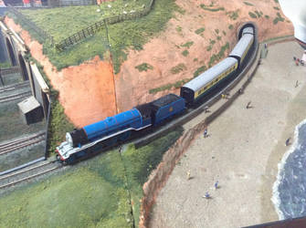Gordon at the Solihull Model Railway Circle 2 by TrackmasterPrime