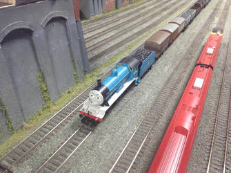 Hornby Edward at the Solihull Model Railway Circle by TrackmasterPrime