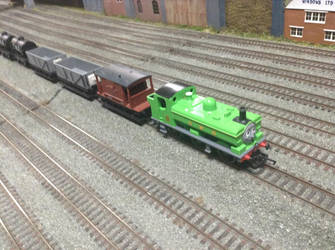 Hornby Duck at the Solihull Model Railway Circle by TrackmasterPrime
