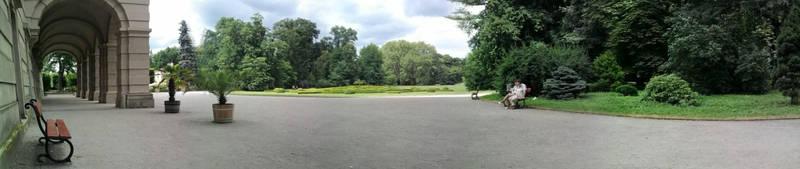 In palace garden by KeiraFey