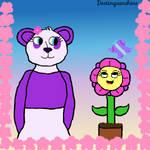 [Contest] Panda and Pea by Destinysunshine