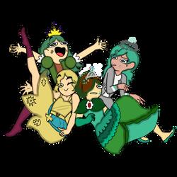 Pineora Children by Destinysunshine