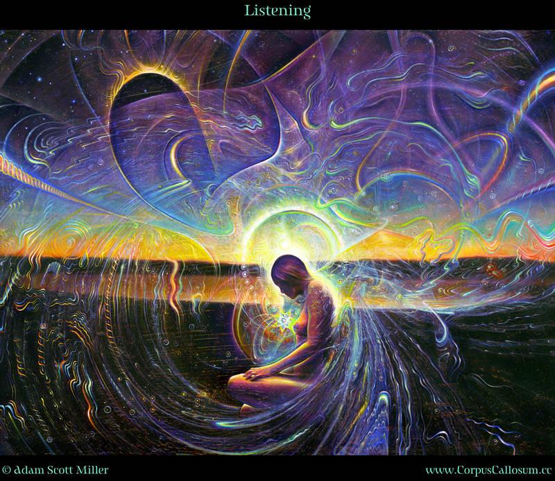 Listening by Adam-Scott-Miller
