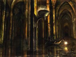 OC.  Subterranean Cruise by Adam-Scott-Miller
