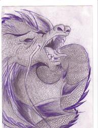 Dragon by Seikatsu-de-Ketsueki