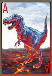 T. rex by Jiuta