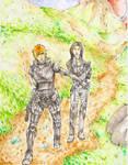 PC- ME Shepard and Miranda by Monami-kun