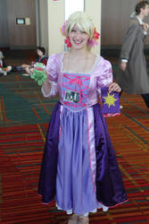 Rapunzel at Connecticon 2011 by octomobiki