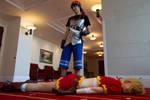 Chrono Cross - Kidd and Serge Photo shoot by octomobiki