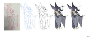 Character Design by Sharksidedown
