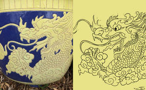 Chinese Dragon remake by Sharksidedown