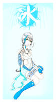 Ice Elemental: Jarae by KyraShangea