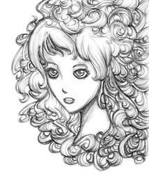 Wind and Curls by KyraShangea