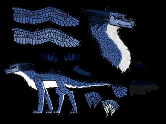 Leopardflame Ref Sheet by CobraCatDragon2898