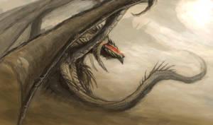 Desert Dragon by axiom-concepts