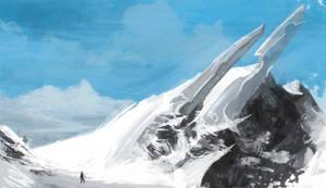 Snowy Ridge by axiom-concepts