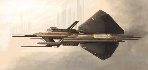 Pirate Spaceship by axiom-concepts