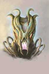 Alien Head by axiom-concepts
